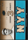 Baseball Cards:Singles (1970-Now), 2008 UD Premier Legendary Remnants Lou Gehrig Jersey Relic Card #LR3-LG - Serial Numbered 19/50....