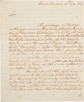 Autographs:U.S. Presidents, George Washington Autograph Letter Signed...