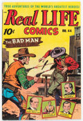 Golden Age (1938-1955):Miscellaneous, Real Life Comics #44 (Nedor Publications, 1948) Condition: VF/NM....