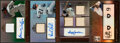 Baseball Cards:Lots, 2010-2011 Topps Tribute Relic & Autograph Relic Card Lot of 4. ... (Total: 4 items)