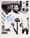 Explorers:Space Exploration, Gordon Cooper Signed Apollo 10 Training Photo. ...