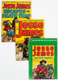 Golden Age (1938-1955):Western, Jesse James Group of 8 (Avon, 1951-56) Condition: Average VG-.... (Total: 8 )