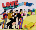"""Animation Art:Limited Edition Cel, The Beatles Yellow Submarine """"All You Need is Love"""" Limited Edition Cel AP#13/19 (Subafilms, 1999)...."""