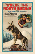 Movie Posters:Adventure, Where the North Begins (Warner Bros., 1923). Fine+ on Line...
