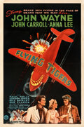 Movie Posters:War, Flying Tigers (Republic, 1942). Fine+ on Linen. On...