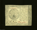 Colonial Notes:Continental Congress Issues, Continental Currency September 26 1778 $40 Very Choice New.