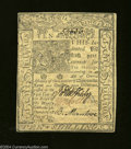 Colonial Notes:Delaware, Delaware January 1, 1776 10s Choice New. The back is a bit ...