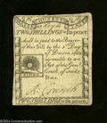 Colonial Notes:Massachusetts, Massachusetts 1779 2s6d Choice Very Fine. A lovely Rising ...