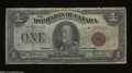 Canadian Currency: , DC-25e $1 1923