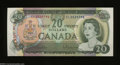 Canadian Currency: , BC-50a $20 1969