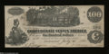 Confederate Notes:1862 Issues, T39 $100 1862. July 4, 1862 is the date of this lightly ...