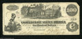 Confederate Notes:1862 Issues, T39 $100 1862. Snappy paper and lightly handled edges ...