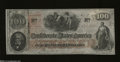 Confederate Notes:1862 Issues, T41 $100 1862. Quality workmanship graces this popular ...