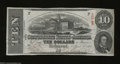 Confederate Notes:1863 Issues, T59 $10 1863. Vibrant inks, nice paper, and lovely ...
