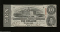 Confederate Notes:1863 Issues, T59 $10 1863. Not a hint of a fold on this 2nd Series $10. ...