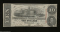 Confederate Notes:1863 Issues, T59 $10 1863. A small edge tear keeps this 5th Series $10 ...