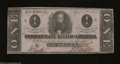 Confederate Notes:1863 Issues, T62 $1 1863. This $1 has been nicely preserved over the ...
