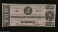 Confederate Notes:1862 Issues, T54 $2 1862. Light handling is seen on this $2. About ...