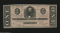 Confederate Notes:1864 Issues, T71 $1 1864. The edges are healthy on this well preserved ...