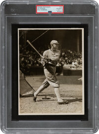 "1919 ""Shoeless Joe"" Jackson Original News Photograph by Paul Thompson, PSA/DNA Type 1"
