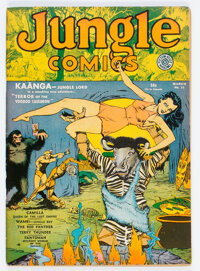 Jungle Comics #15 (Fiction House, 1941) Condition: Apparent VF-