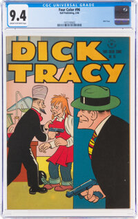 Four Color #96 Dick Tracy (Dell, 1946) CGC NM 9.4 Cream to off-white pages