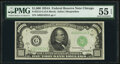 Fr. 2212-G $1,000 1934A Federal Reserve Note. PMG About Uncirculated 55 EPQ
