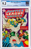 Silver Age (1956-1969):Superhero, Justice League of America #21 (DC, 1963) CGC NM- 9.2 Off-white to white pages....
