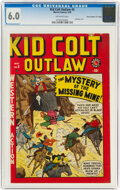 "Golden Age (1938-1955):Western, Kid Colt Outlaw #5 Davis Crippen (""D"" Copy) Pedigree (Marvel, 1949) CGC FN 6.0 Off-white pages...."