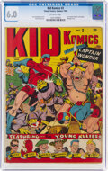 Golden Age (1938-1955):Superhero, Kid Komics #2 (Timely, 1943) CGC FN 6.0 Off-white pages....
