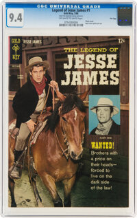 The Legend of Jesse James #1 File Copy (Gold Key, 1966) CGC NM 9.4 Off-white to white pages