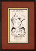 Football Collectibles:Publications, 1969 Pro Football Writers' Association Multi-Signed Program with Vince Lombardi. ...