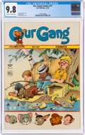 Golden Age (1938-1955):Humor, Our Gang Comics #11 (Dell, 1944) CGC NM/MT 9.8 Off-white to white pages....