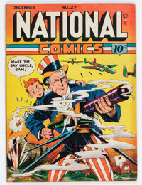 National Comics #27 (Quality, 1942) Condition: FN-