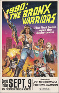 "Movie Posters:Action, 1990: The Bronx Warriors (United Film Distribution, 1982). Fine+. Window Card (14.5"" X 23""). Action.. ..."