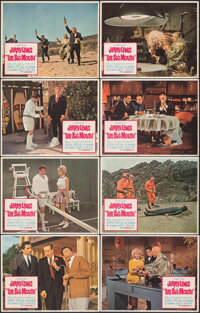 "The Big Mouth & Other Lot (Columbia, 1967). Overall: Very Fine. Lobby Card Sets of 8 (2) (11"" X 14""). Come..."