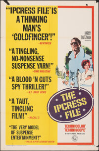 "The Ipcress File & Other Lot (Universal, 1965). Folded, Fine. One Sheets (2) (27"" X 41""). Thriller. ... (T..."