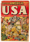 Golden Age (1938-1955):Superhero, USA Comics #9 (Timely, 1943) Condition: FR....