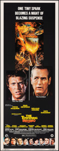 """Movie Posters:Action, The Towering Inferno (20th Century Fox, 1974). Rolled, Very Fine+. Insert (14"""" X 36"""") John Berkey Artwork. Action.. ..."""