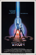 """Movie Posters:Science Fiction, Tron (Buena Vista, 1982). Rolled, Very Fine. One Sheet (27"""" X 41""""). Science Fiction.. ..."""