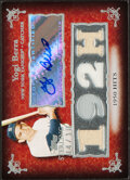 Baseball Cards:Singles (1970-Now), 2007 Topps Sterling Yogi Berra Autograph Jersey Relic Card #4CSA-45 - Serial Numbered 4/10. ...