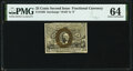 Fractional Currency:Second Issue, Fr. 1288 25¢ Second Issue PMG Choice Uncirculated 64.. ...