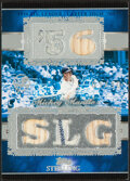 Baseball Cards:Singles (1970-Now), 2007 Topps Sterling Mickey Mantle Bat/Jersey Relic Card #5SS-13 - Serial Numbered 1/10....