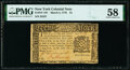 New York March 5, 1776 $1 PMG Choice About Unc 58