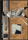 Baseball Cards:Singles (1970-Now), 2004 Donruss Elite Throwback Threads Roger Maris Jersey Relic Card #TT-48 - Serial Numbered 10/10. ...