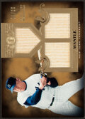 Baseball Cards:Singles (1970-Now), 2011 Topps Tier One Mickey Mantle Bat Relic Card #TSR36 - Serial Numbered 4/25. ...