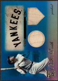 Baseball Cards:Singles (1970-Now), 2009 Topps Tribute Babe Ruth Bat Relic Card #1 - Serial Numbered 47/75....