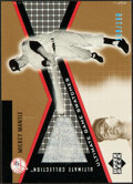 Baseball Cards:Singles (1970-Now), 2002 Upper Deck Ultimate Collection Mickey Mantle Pants Relic Card #JR-MM - Serial Numbered 159/199. ...