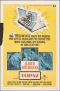 """Movie Posters:Hitchcock, Topaz (Universal, 1969). Folded, Fine+. One Sheet (27"""" X 41"""") & Cut Pressbook (14 Pages, 9"""" X 14"""") with Cut Ad Supplement (1... (Total: 2 Items)"""