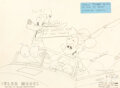 Animation Art:Color Model, The Simple Things Mickey Mouse and Pluto Color Model Drawing (Walt Disney, 1953). ...